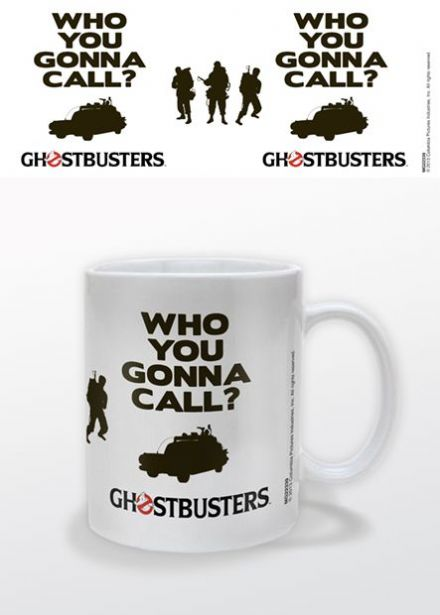 Ghostbusters 'Who You Gonna Call' Ceramic Mug